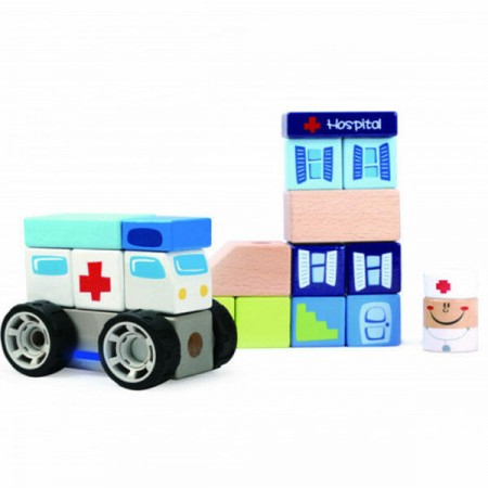Set de constructie - La spital Topbright