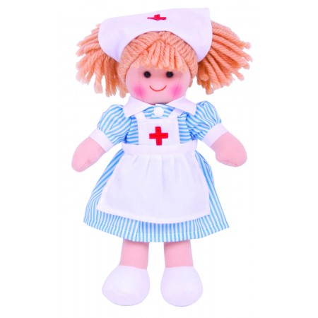 Papusa - Nurse Nancy Bigjigs