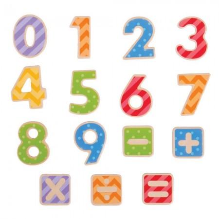 Set numere magnetice Bigjigs