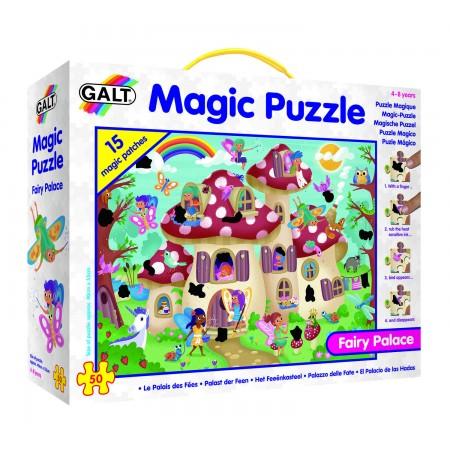 Magic Puzzle - Palatul zanelor (50 piese) Galt