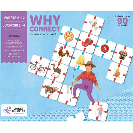 Joc interactiv - Why Connect? Chalk And Chuckles