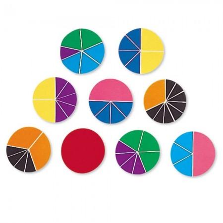 Geometria fractiilor - Cercuri Learning Resources