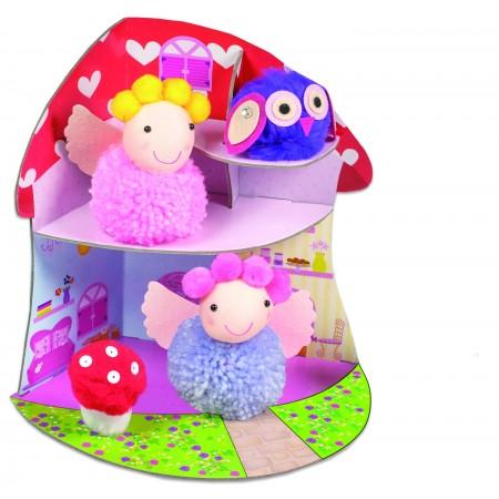 Set creativ - Fairy Pompom House Galt