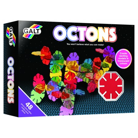 Set de construit - Octons - 48 piese Galt