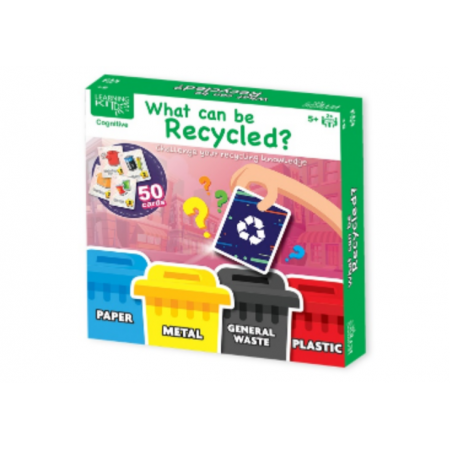 Joc educativ - Ce poti recicla? Learning Kitds