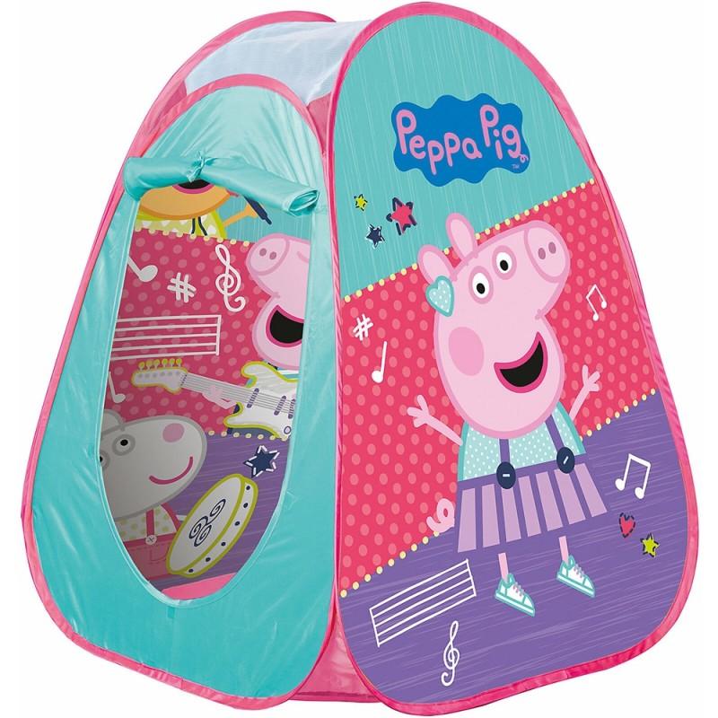 Cort de joaca John Peppa Pig 75x75x90 cm John