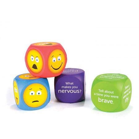 Cuburi pentru conversatii - EMOJI Learning Resources