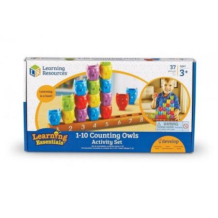 Joc matematic - Bufnitele socotesc Learning Resources