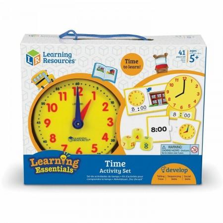 Joc - Invatam ceasul Learning Resources