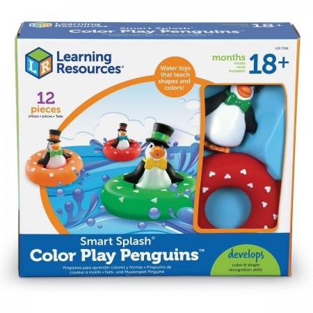 Set de potrivire - Pinguinii colorati Learning Resources