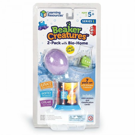 Set figurine Beaker Creatures Learning Resources