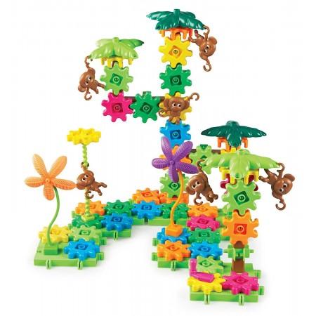 Setul constructorului - maimutele buclucase Learning Resources
