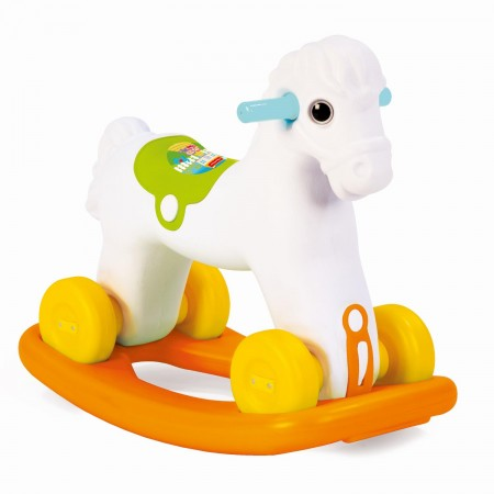 Jucarie 2 in1 - Calut balansoar Fisher Price