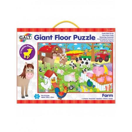 Giant Floor Puzzle: Ferma (30 piese) Galt