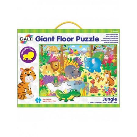 Giant Floor Puzzle: Jungla (30 piese) Galt