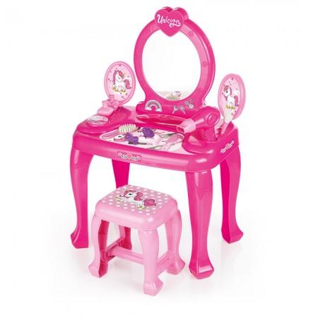 Masuta de toaleta cu scaun - Unicorn Dolu