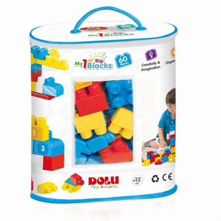 Primele cuburi de construit  - 60 piese Dolu