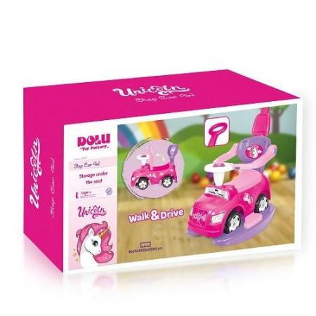Masinuta 4 in 1 - Step car Unicorn Dolu