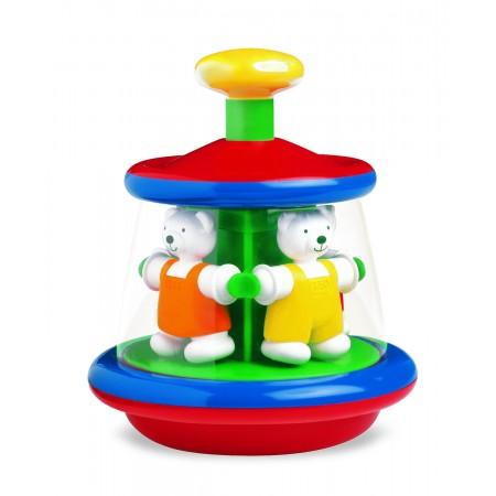 Jucarie interactiva - Carusel cu ursuleti Ambi Toys
