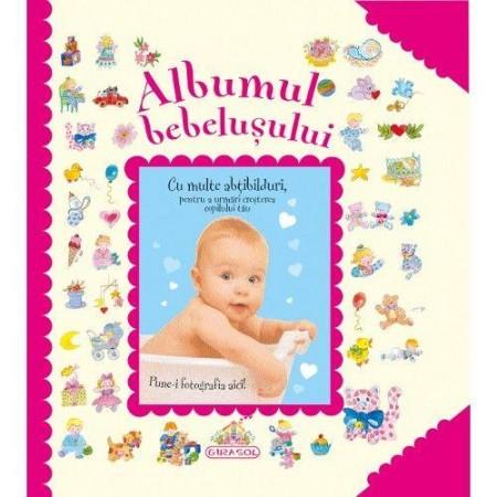 Albumul bebelusului (roz) Girasol