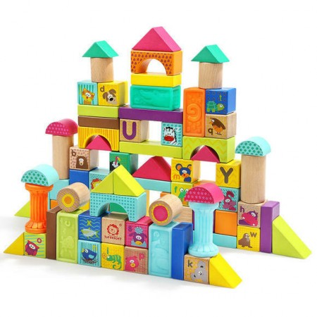 Joc de constructie - Animalute jucause Topbright