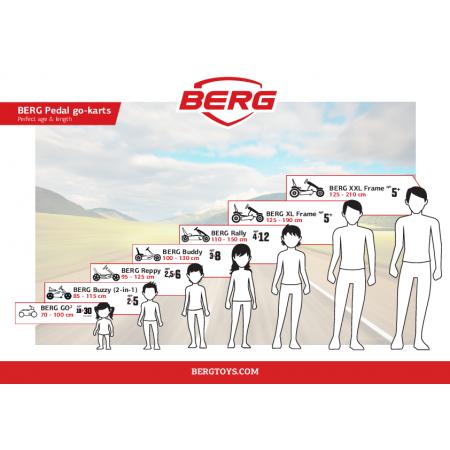 Kart Berg GO 2 SparX Rosu