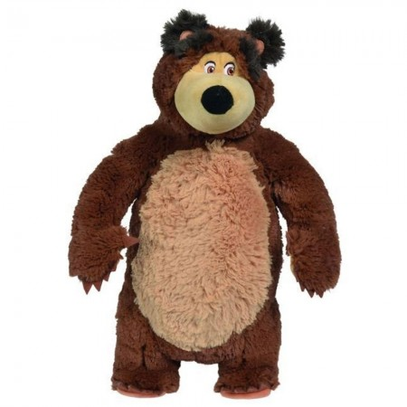 Jucarie de plus Simba Masha and the Bear, Bean Bag Bear 40 cm*