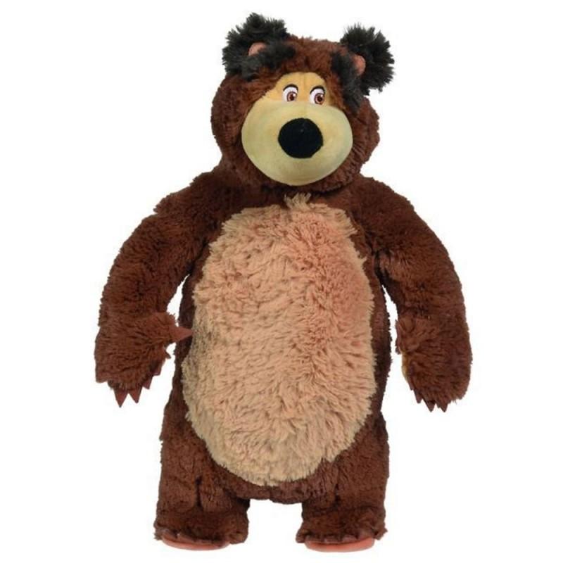 Jucarie de plus Simba Masha and the Bear, Bean Bag Bear 40 cm*