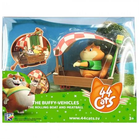 Masina Smoby 44 Cats cu figurina Meatball 7,7 cm*