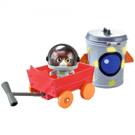 Masina Smoby 44 Cats cu figurina Cosmo 7,7 cm*