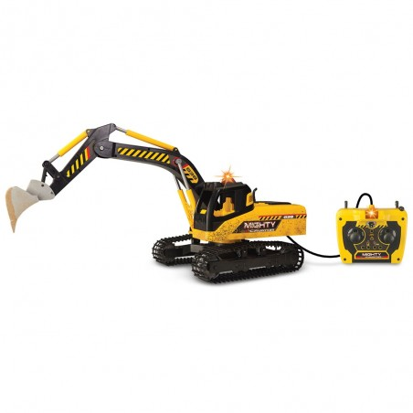 Excavator Dickie Toys Mighty cu telecomanda*