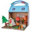 Jucarie Simba Statie montana Mountain Activity Centre Fireman Sam Bergstation cu 2 figurine si accesorii*