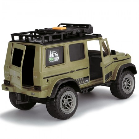 Masina Dickie Toys Playlife Ranger Set cu masina Mercedes-Benz AMG 500 4x4, figurina si accesorii*