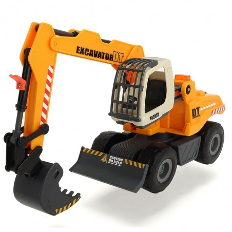 Excavator Dickie Toys DT 433 cu accesorii*