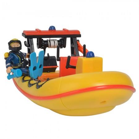 Barca Simba Fireman Sam Neptune cu figurina si accesorii*