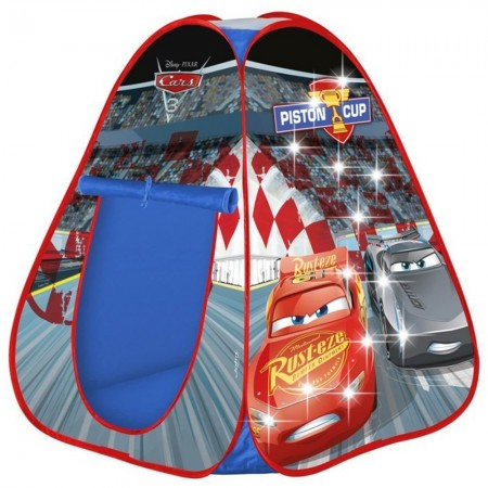 Cort de joaca John Cars cu lumini 85x85x95 cm*
