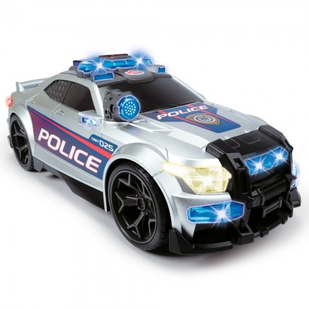 Masina de politie Dickie Toys Street Force cu sunete si lumini*