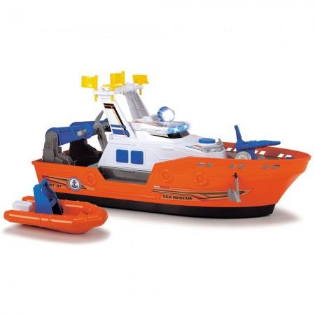 Barca de salvare Dickie Toys Harbour Rescue DT-37 cu accesorii*