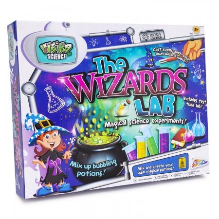 Set experimente - Laboratorul magicianului Grafix.*