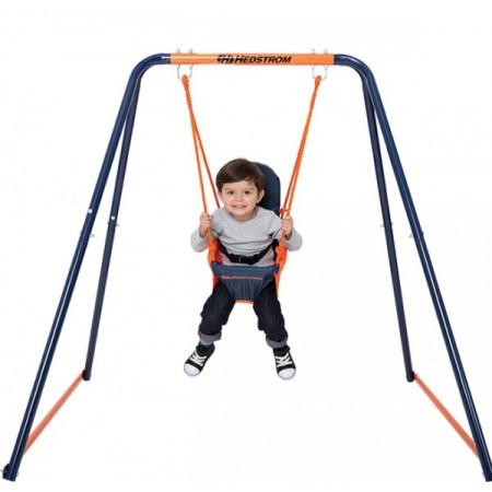 Leagan pentru bebelusi si copii mici 08834 MVS pentru exterior din metal*