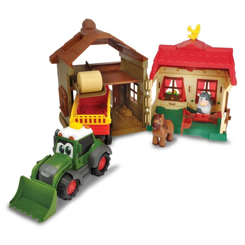 Set Dickie Toys Happy Farm House cu tractor si accesorii*