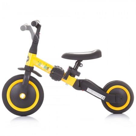Tricicleta si bicileta Chipolino Smarty 2 in 1 yellow*