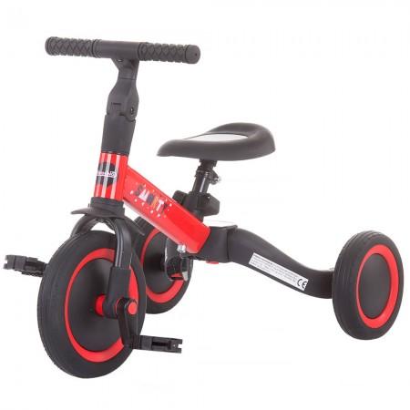 Tricicleta si bicileta Chipolino Smarty 2 in 1 red*