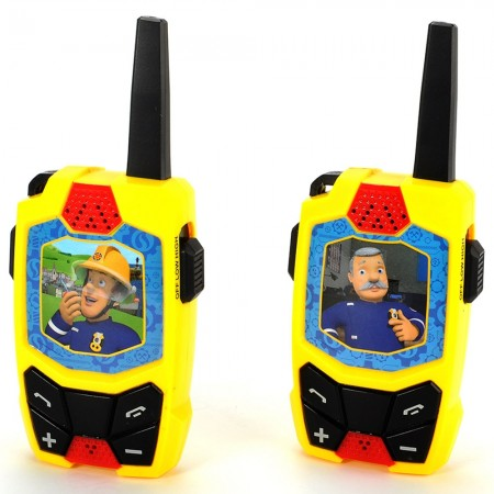 Statie Walkie Talkie Dickie Toys Fireman Sam*