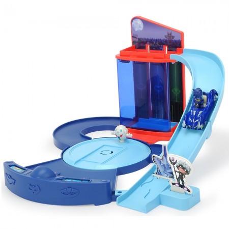 Pista de masini Dickie Toys Eroi in Pijama Control Centre cu 1 masinuta si 1 figurina*