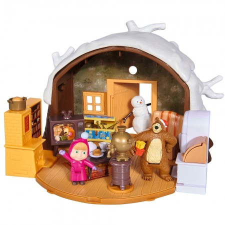 Jucarie Simba Masha and the Bear Winter Bear's House*
