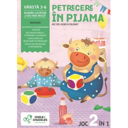 Joc - Petrecere in pijama Chalk And Chuckles.*