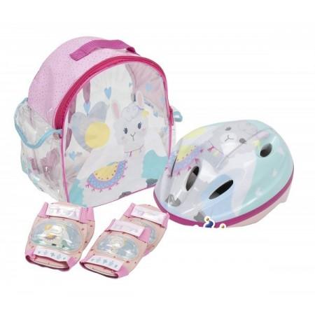 Set accesorii protectie pentru bicicleta role trotineta Saica 4601 Alpaca*