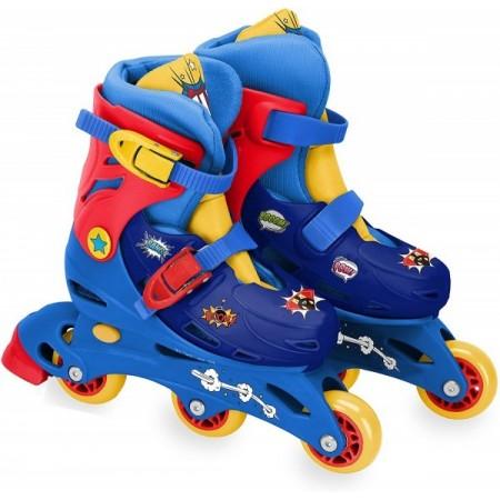 Role pentru copii cu 3 roti Saica 2234 Comic marime reglabila 27-30 roti interschimbabile frana de picior*