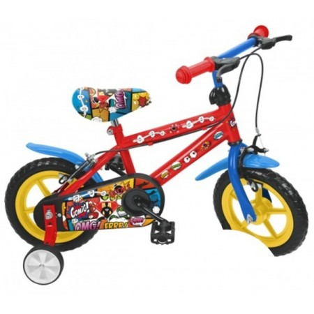 Bicicleta baieti Saica 2851 Comic roata EVA 12 inch*